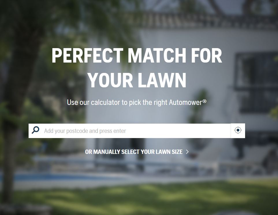 Husqvarna Lawn Calculator