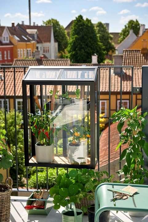 Juliana Urban Balcony Greenhouse - I really like this one