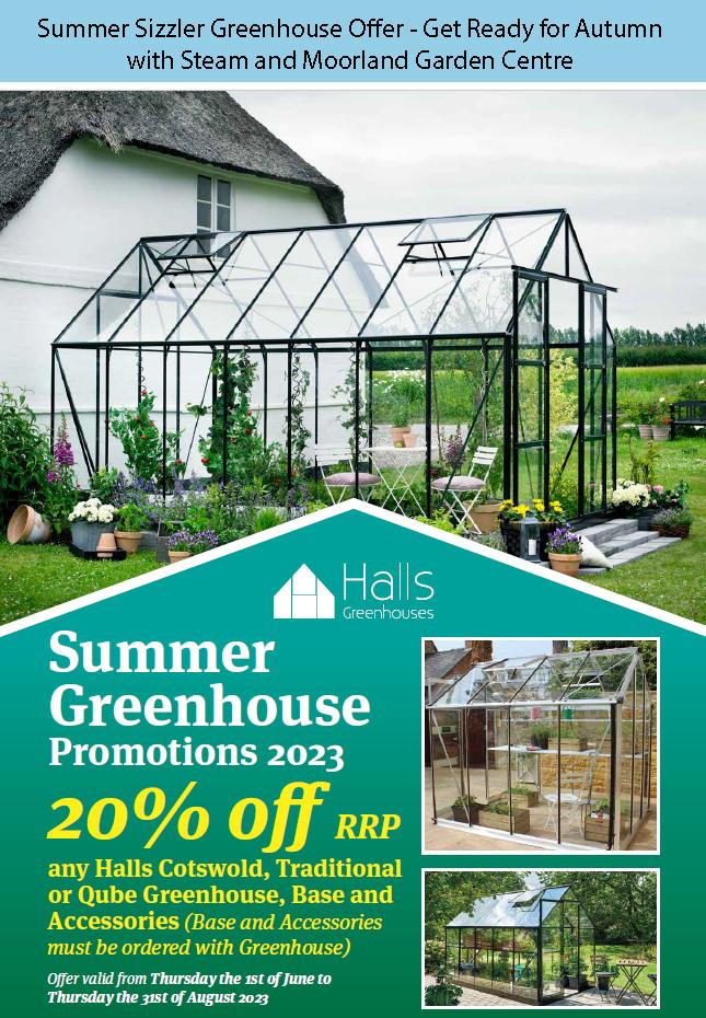 Eden and Halls Greenhouses - Current Offer