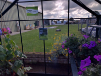 ... and of course we have our OWN Display Greenhouses at Steam and Moorland , Pickering.