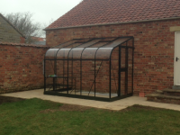 Lovely Lean-To Greenhouse install in 2014