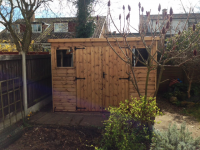 Premier Pent Shed 10x8 Installed in March 2014