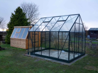 Shed AND Greenhouse - Installed by Steam and Moorland - Feb 2013