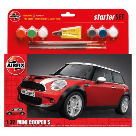 Airfix Mini Cooper S 1:32 Scale Model
