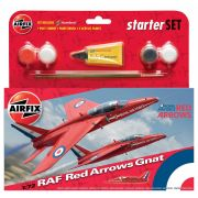 Airfix RAF Red Arrows Gnat 1:72 Scale
