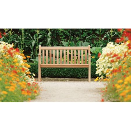 Alexander Rose Mahogany Broadfield 4ft Bench