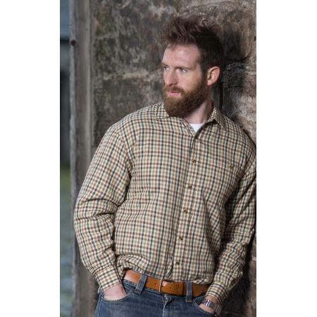 Bracken micro fleece-lined shirt Medium