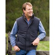 Breezer reversible unisex bodywarmer navy