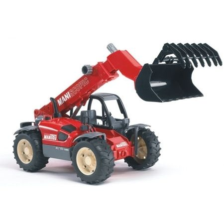 Bruder 02125 Manitou MANISCOPIC MLT633 Turbo