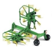 Bruder 022167 Krone Dual Rotary Swath Windrower Toy