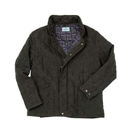 Carlton quilted jacket dark green Small - image 1