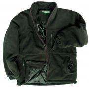 Ghillie padded fleece jacket field green