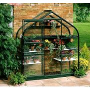 Halls Forest Green Supreme Wall Garden 6x2 Toughened Glass