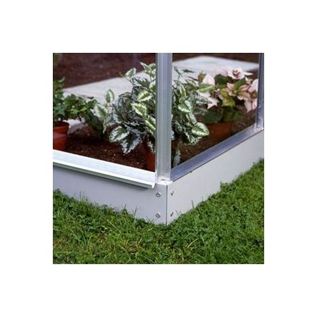 Halls Greenhouse Base 610 Popular & Supreme Aluminium