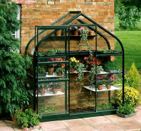 Halls WALL GARDEN Lean-to Greenhouses