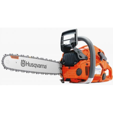 "Husqvarna 555 Petrol Chainsaw with 18"" bar (Optional 18"" Bar)"