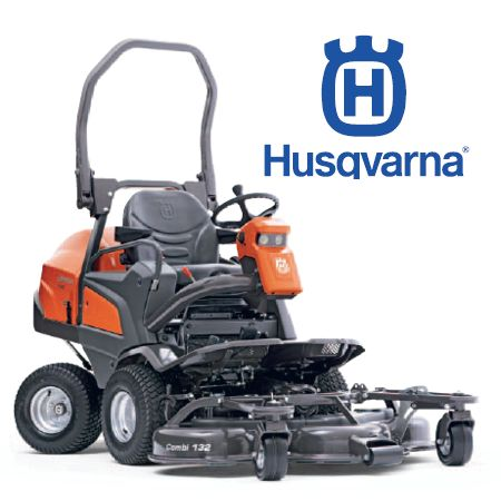 Husqvarna Rider  P520D AWD LawnMower Plus Optional 132cm Combi Deck