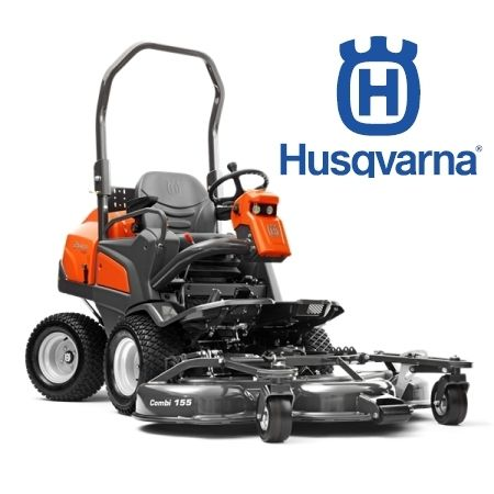 Husqvarna Rider P525DX AWD Plus 132cm  Combi Deck (Optional 155cm Deck)