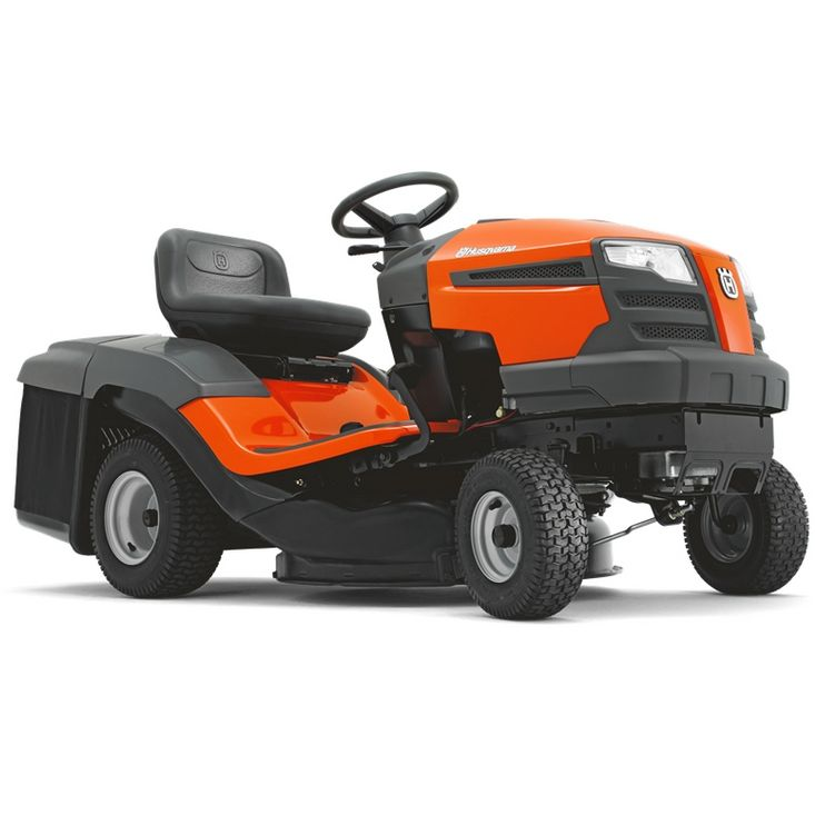 husqvarna tc130 rear discharge lawn tractor lawnmower. Black Bedroom Furniture Sets. Home Design Ideas