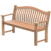 Mahogany 5ft Turnberry Bench - Alexander Rose Code 614