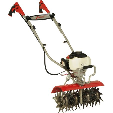 "Mantis 4-stroke Deluxe XP 16"" Tiller and Kick Stand"