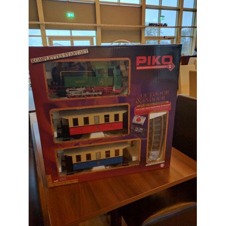 Piko BR80 Passenger Starter Train Set G-Scale