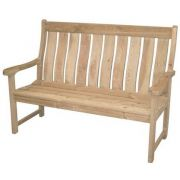 Pine 5ft Farmers High Back Bench - Alexander Rose Code 309