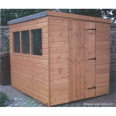 Regency Popular Pent Shed 5' x 7'