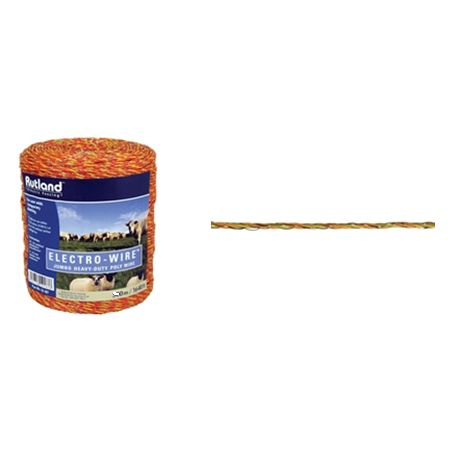 Rutland Electric Fencing - Jumbo Wire - Poly Wire - 500M