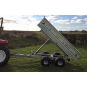 Siromer Galvanised Hydraulic Tipping Trailer 8' x 5' / 2T