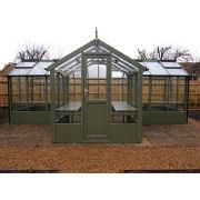 "Swallow CYGNET ThermoWood Greenhouse 2035x3490 or 6'8 x 11'5 ""T-shaped"" - image 2"