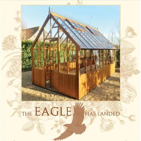 Swallow EAGLE ThermoWood Greenhouse 2562x4860 or 8'3 x 15'11 - image 1