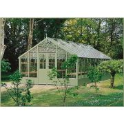 Swallow FALCON ThermoWood Greenhouse 3900x3840 or 13'1 x 12'7 Double Doors - image 2