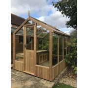 Swallow KINGFISHER ThermoWood Greenhouse 2035x2550 or 6'8 x 8'4 - image 1