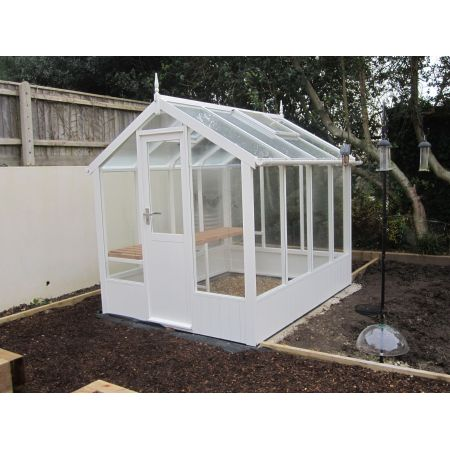 Swallow KINGFISHER PAINTED Greenhouse 2035x2550 or 6'8 x 8'4