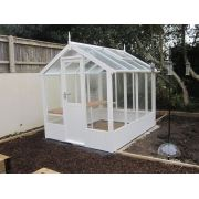 Swallow KINGFISHER ThermoWood Greenhouse 2035x2550 or 6'8 x 8'4 - image 2