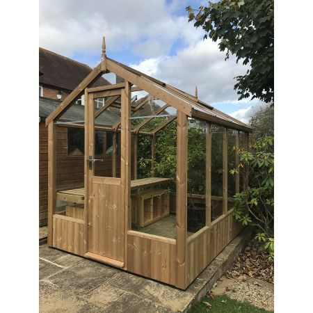 Swallow KINGFISHER ThermoWood Greenhouse 2035x3840 or 6'8 x 12'7 - image 1