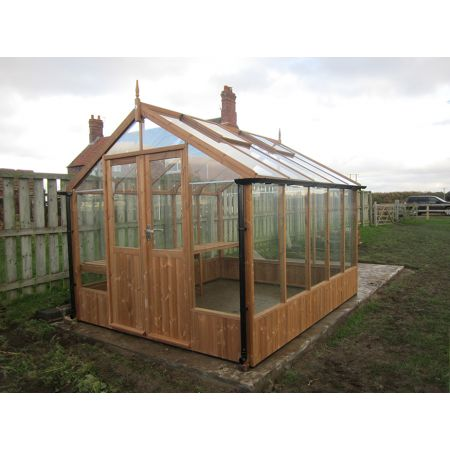 Swallow RAVEN Thermowood Greenhouse 2660 x 1920 or 8'9 x 6'4 Double Doors - image 1