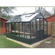 Swallow RAVEN Thermowood Greenhouse 2660 x 1920 or 8'9 x 6'4 Double Doors - image 2