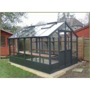 Swallow RAVEN ThermoWood Greenhouse 2660 x 2550 or 8'9 x 8'4 Double Doors - image 2