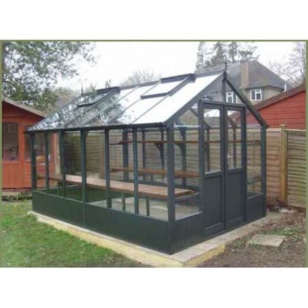 Swallow RAVEN PAINTED Greenhouse 2660 x 3180 or 8'9 x 10'5 Double Doors