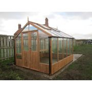 Swallow RAVEN ThermoWood Greenhouse 2660 x 5100 or 8'9 x 16'9 Double Doors - image 1