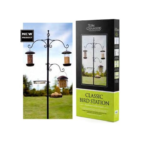 Tom Chambers Classic Bird Station Bst009 Steam