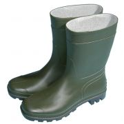 Town and Country half length wellie green