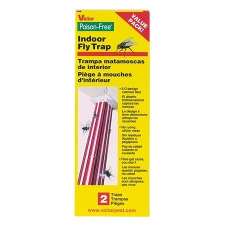 VICTOR - Poison-Free Indoor Fly Trap 2PK - M507
