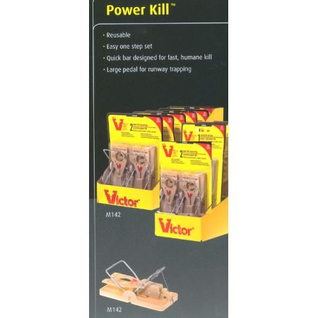 VICTOR - PowerKill Mouse Trap 2PK - M142