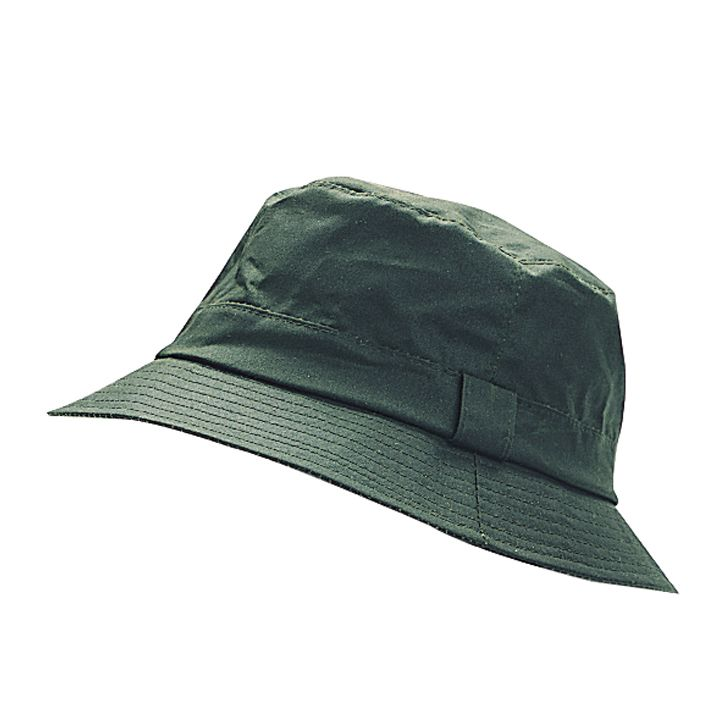 Waxed bush hat dark olive Large - Country Clothing - Steam   Moorland  Garden Centre fb90a64d069f