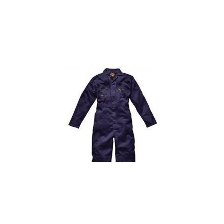 Zip front coverall navy 36R